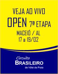 Open 7ª Etapa Ao vivo
