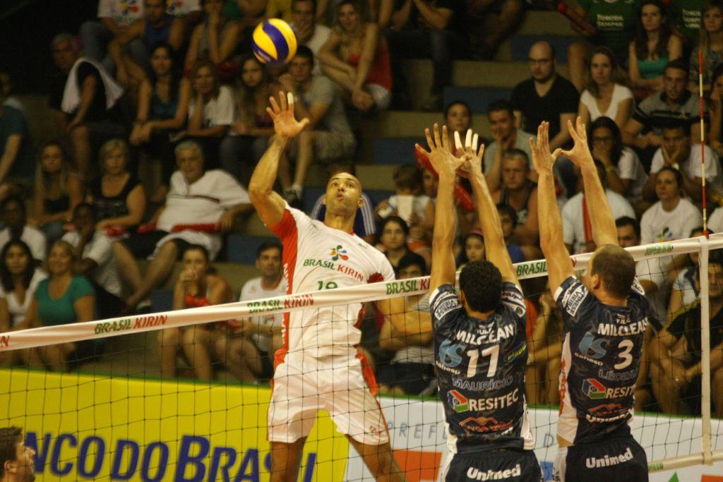 Campinas (SP) - 01/11/14 -  - Brasil Kirin x Vôlei Taubaté