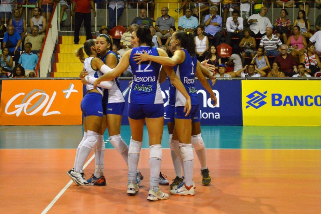 Rio de Janeiro (RJ) - 30/01/15 - Superliga 14/15 - Rexona/Ades x Camponesa Minas T.C