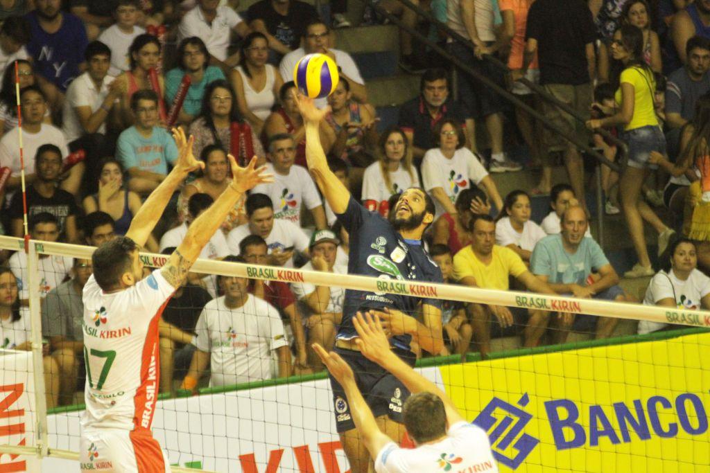 Campinas (SP) - 21/02/15 - Brasil Kirin x Sada Cruzeiro