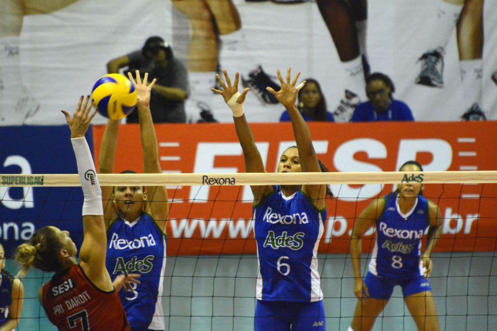 Rio de Janeiro (RJ) - 13/03/15 - Rexona/Ades x Sesi-SP