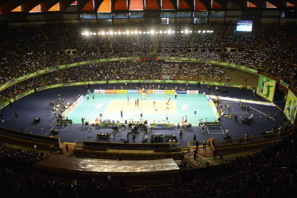 Belo Horizonte (MG) - 12/04/15 - Final da Superliga Masculina 14/15 - Sada/Cruzeiro x Sesi-SP