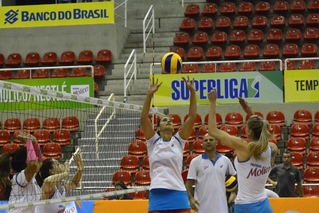 Rio de janeiro (RJ) - 24/04/15 - Treino Molico/Nestlé