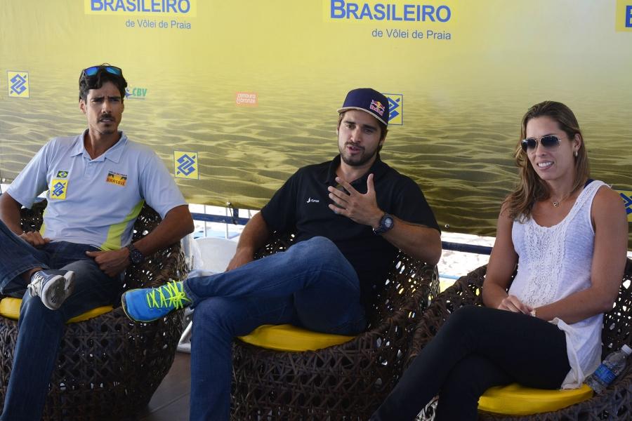 Brasília (DF) - 13/08/15 - Coletiva CBBVP