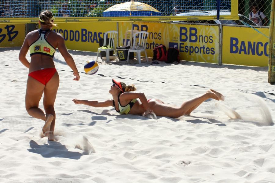 Rio de Janeiro (RJ) - 08/08/15 - Circuito Nacional de Vôlei de Praia
