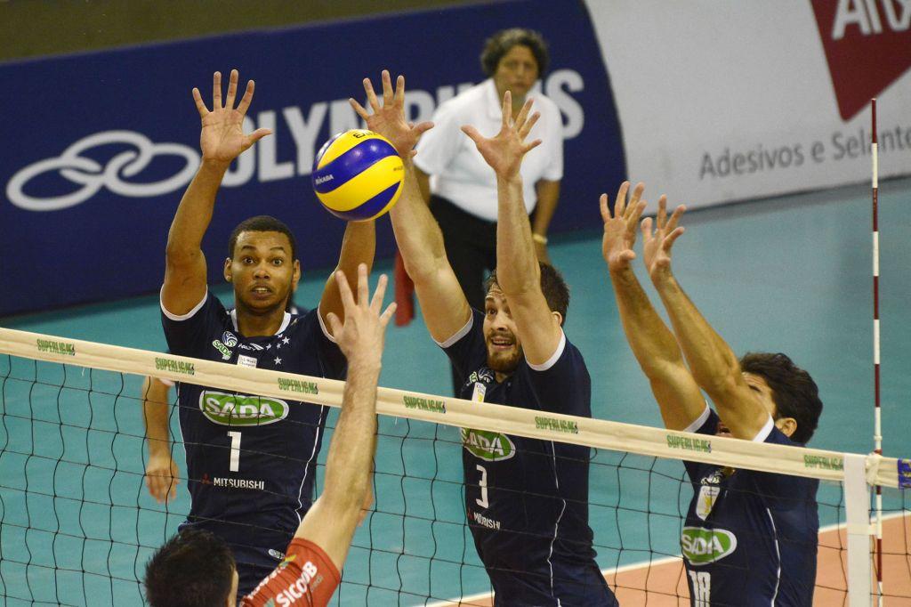 Contagem (MG) - 16/01/16 - Sada Cruzeiro x Voleisul/Paquetá