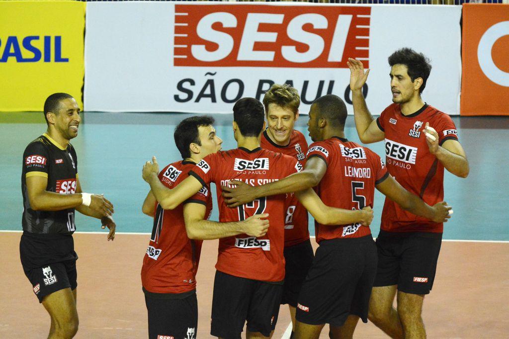Belo Horizonte (MG) - 30/01/16 - Minas Tenis Clube x Sesi-SP