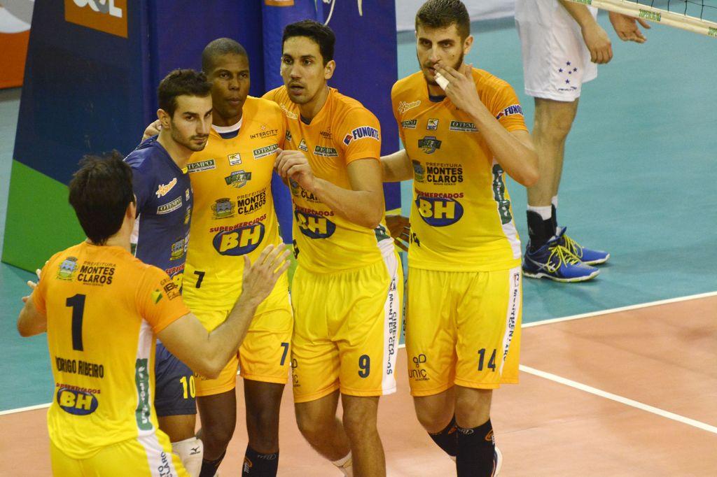 Contagem (MG) - 04/02/16 - Sada Cruzeiro x Montes Claros Vôlei