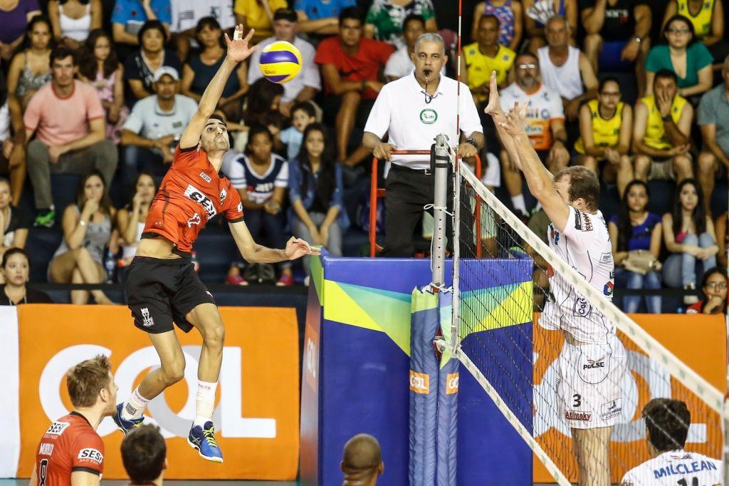 São Paulo (SP) - 13/02/16 - Sesi-SP x Funvic/Taubaté