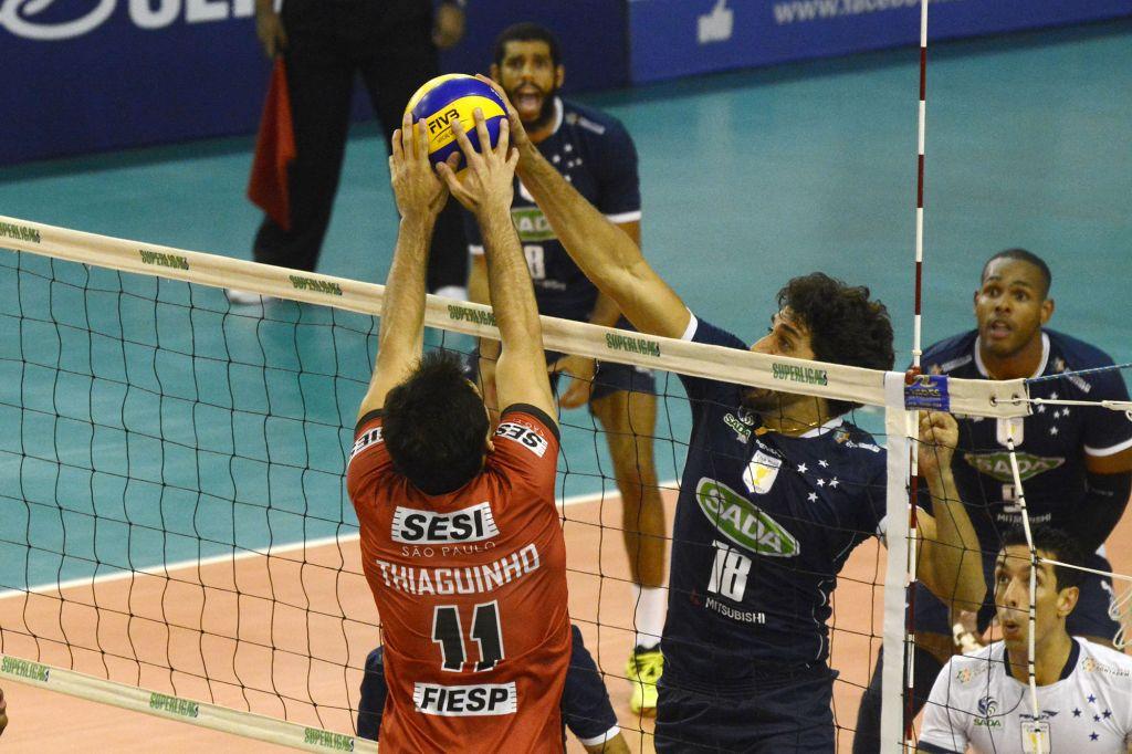 Contagem (MG) - 05/03/16 - Sada Cruzeiro x Sesi-SP