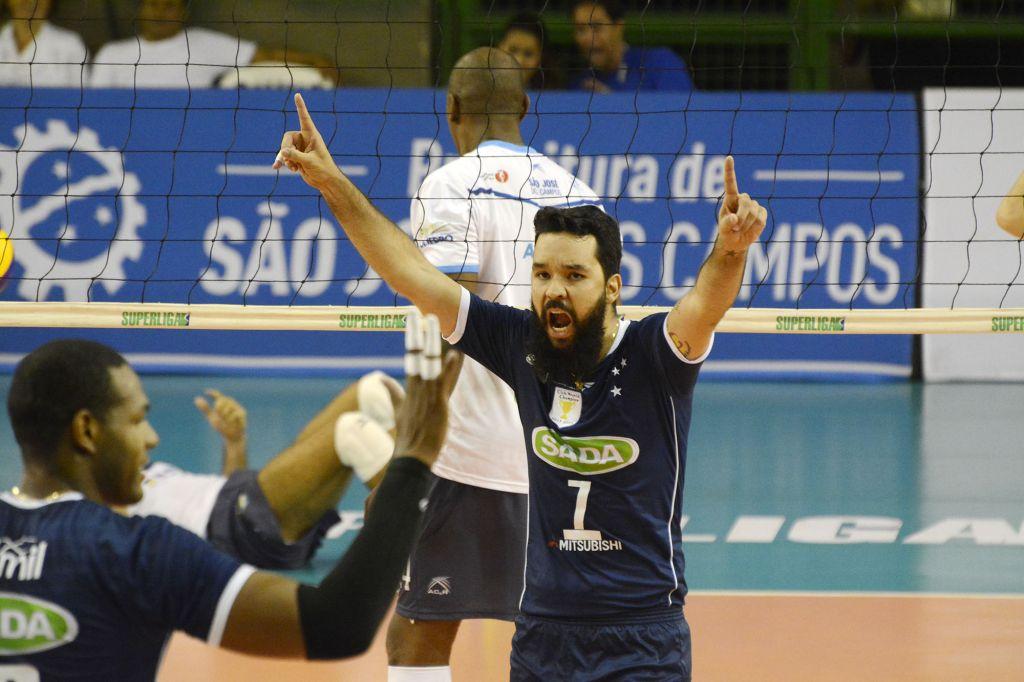 Contagem (MG) - 16/03/16 - Sada Cruzeiro x São José Vôlei