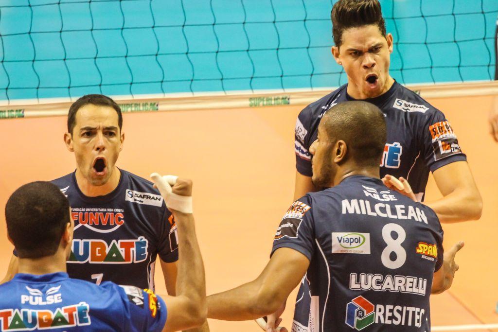 Taubaté (SP) - 17/03/16 - Funvic/Taubaté x Minas Tênis Clube