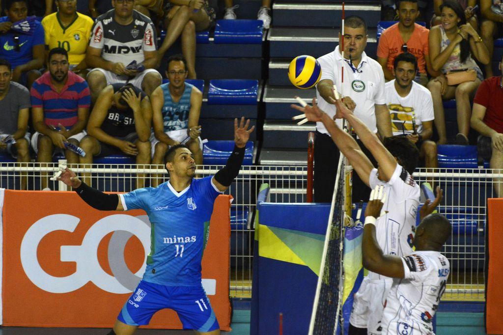 Belo Horizonte (MG) - 20/02/16 - Minas Tênis Clube x Funvic/Taubaté