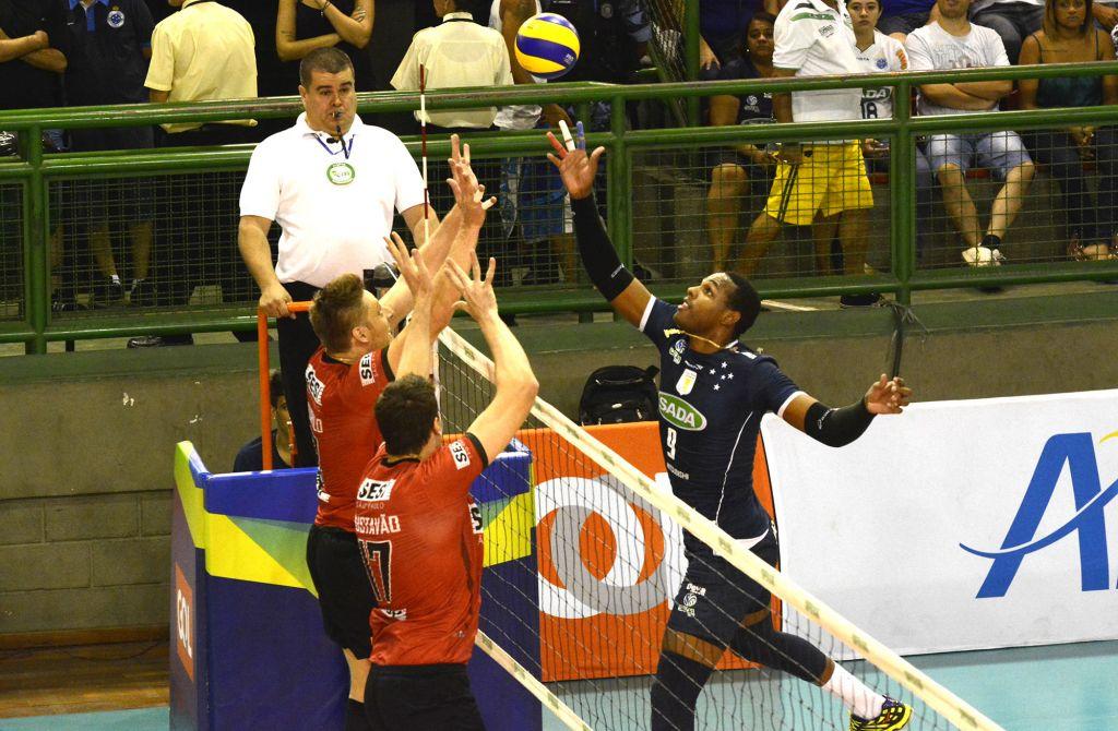 Contagem (MG) - 26/03/16 - Sada Cruzeiro x Sesi-SP