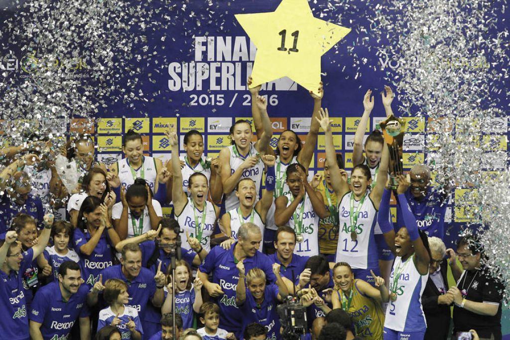 BRASÍLIA (DF) - 03.04.2016 - Final Feminina Rexona-AdeS (RJ) x Dentil/Praia Clube (MG)
