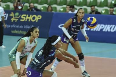 Brasília (DF) -  05.11.2016 - Superliga feminina - Terracap/BRB/Brasília Vôlei x Sesi-SP