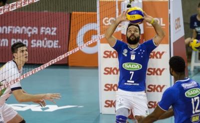 Contagem (MG) - Superliga masculina 16/17 - Sada Cruzeiro x Minas Tênis Clube