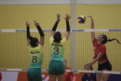 Saquarema (RJ) - 29.11.2016 - CBS Sub19 Feminino 2ª Divisão - Finais