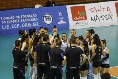São Paulo (SP) - Superliga feminina 16/17 - Pinheiros x Genter Vôlei Bauru