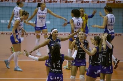 Rio de Janeiro (RJ) - 08.12.2016 - Superliga feminina 16/17 - Rexona-Sesc x Terracap/BRB/Brasília Vôlei