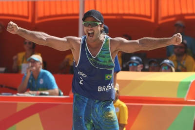 Rio de Janeiro (RJ) - 06.08.2016 - Alison/Bruno x Binstock/Schachter