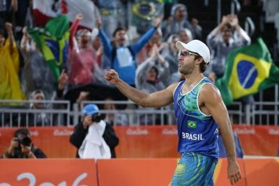 Rio de Janeiro (RJ) - 10.08.2016 - Alison/Bruno Schmidt x Carambula/Ranghieri