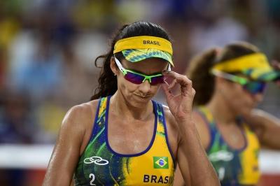 Rio de Janeiro (RJ) - 16.08.2016 - Larissa/Talita x Laura/Kira