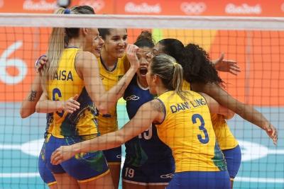 RIO DE JANEIRO (RJ) - 16.08.2016 - JOGOS OLÍMPICOS - BRASIL X CHINA