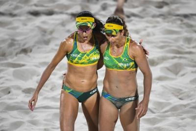 Rio de Janeiro (RJ) - 17.08.2016 - Larissa/Talita x Walsh/Ross