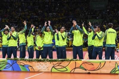 RIO DE JANEIRO (RJ) - 21.08.2016 - JOGOS OLÍMPICOS - BRASIL X ITÁLIA