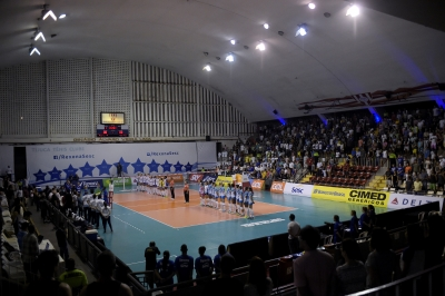 Rio de Janeiro (RJ) - 04.04.2017 - Superliga feminina - Rexona-Sesc x Camponesa/Minas