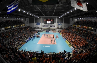 Belo Horizonte (MG) - 11.04.2017 - Superliga feminina - Camponesa/Minas x Rexona-Sesc