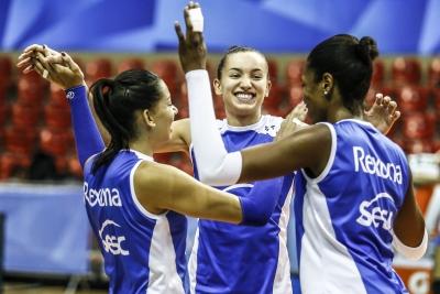 Rio de Janeiro (RJ) - 21.04.2017 - Superliga feminina - Treino Rexona-Sesc