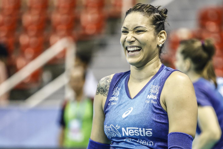 Rio de Janeiro (RJ) - 21.04.2017 - Superliga feminina - Treino Vôlei Nestlé