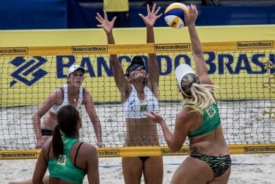 Niterói (RJ) - 27.04.2017 - Circuito Brasileiro Vôlei de Praia - Superpraia Dia 01