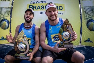 NITERÓI (RJ) - 30.04.2017 - CIRCUITO BRASILEIRO VÔLEI DE PRAIA - FINAIS