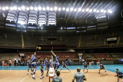 Belo Horizonte (MG) - 04.05.2017 - Superliga masculina - Treino Sada Cruzeiro