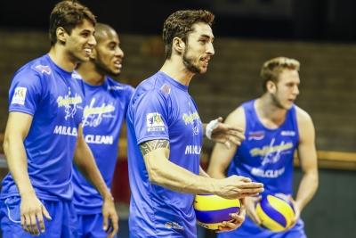 Belo Horizonte (MG) - 04.05.2017 - Superliga masculina - Treino Funvic Taubaté