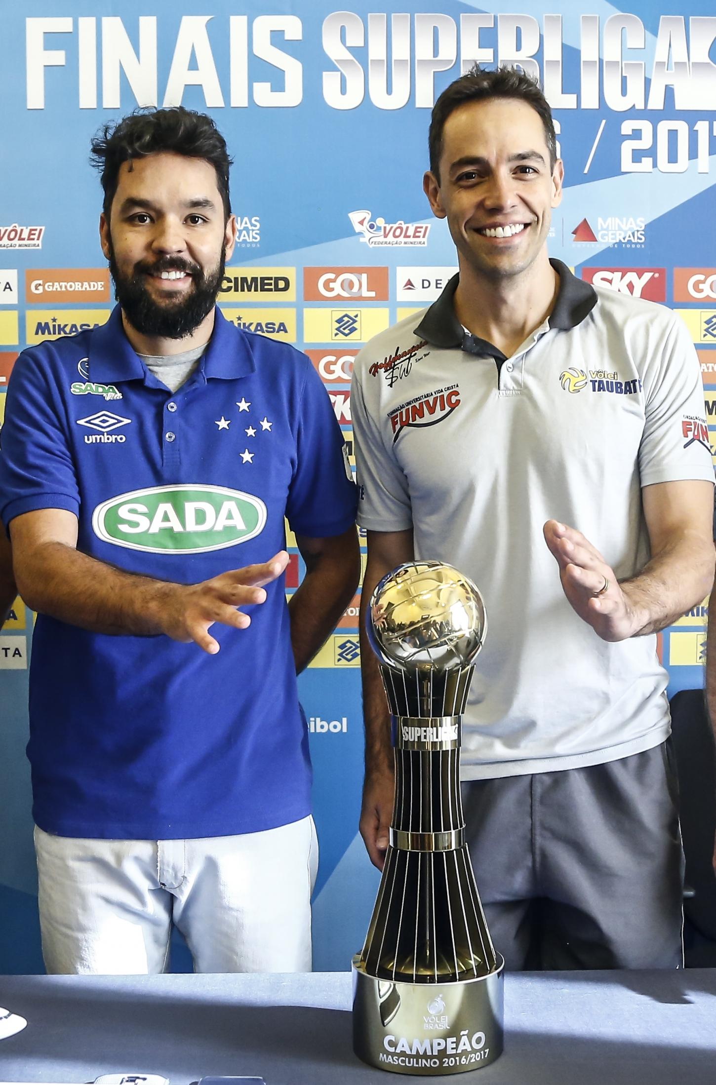 Belo Horizonte (MG) - 04.05.2017 - Coletiva Final Superliga Masculina 16/17