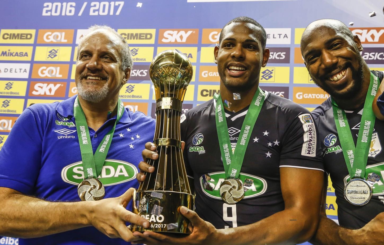 Belo Horizonte (MG) - 07.05.2017 - Final Superliga Masculina 16/17 - Sada Cruzeiro x Funvic Taubaté