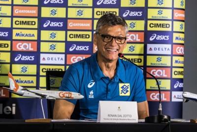 Rio de Janeiro (RJ) - 08.05.2017 - Coletiva de Imprensa - Seleção Brasileira Masculina