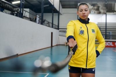 Barueri (SP) - 20.06.2017 - Treino da Seleção Brasileira Feminina