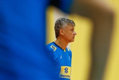 Saquarema (RJ) - 28.06.2017 - Treino da seleção brasileira masculina de vôlei
