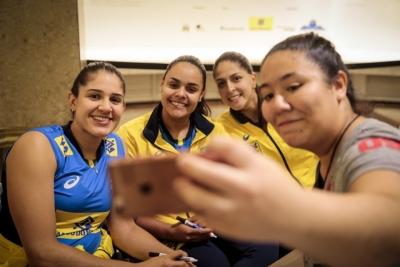 São Paulo (SP) - 28.06.2017 - Seleção feminina - Sessão de autógrafos - CCBB - SP