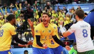 Curitiba (PR) - 04.07.2017 - Liga Mundial - Brasil x Rússia