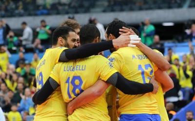 Curitiba (PR) - 04.07.2017 - Liga Mundial - Brasil x Estados Unidos (Semifinal)