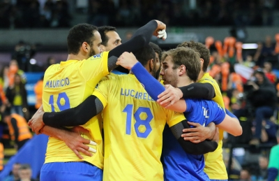 Curitiba (PR) - 09.07.2017 - Liga Mundial - Brasil x França