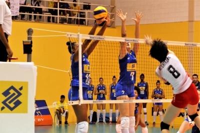 Saquarema (RJ) - 12.08.2017 - Torneio Internacional - Brasil x Japão