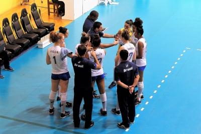 Saquarema (RJ) - 14.08.2017 - Torneio Internacional - Brasil x EUA