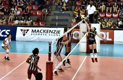 Belo Horizonte (MG) - 19.10.2017 - Campeonato Brasileiro Interclubes sub-16 feminino (semifinais)